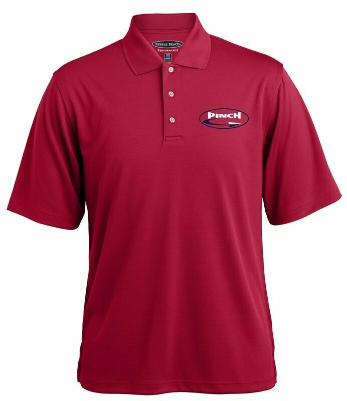 Pebble Beach Horizontal Textured Polo - Available in 3 colors.