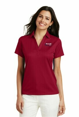 Port Authority® Ladies Performance Fine Jacquard Polo - Available in 3 colors