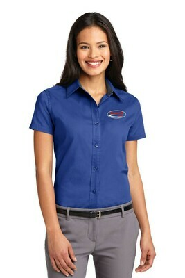 Port Authority® Ladies Short Sleeve Easy Care Shirt- Available in 2 colors