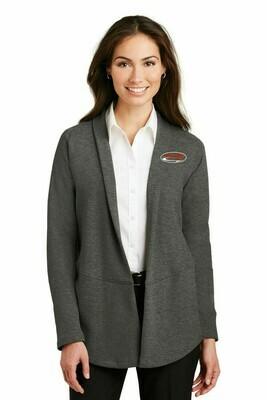 Port Authority® Ladies Interlock Cardigan.