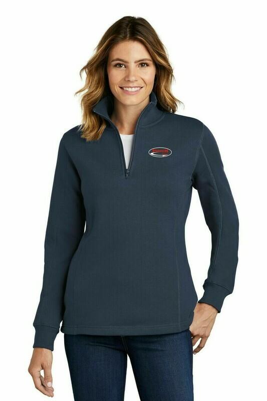 Sport-Tek Ladies 1/4 Zip Sweatshirt