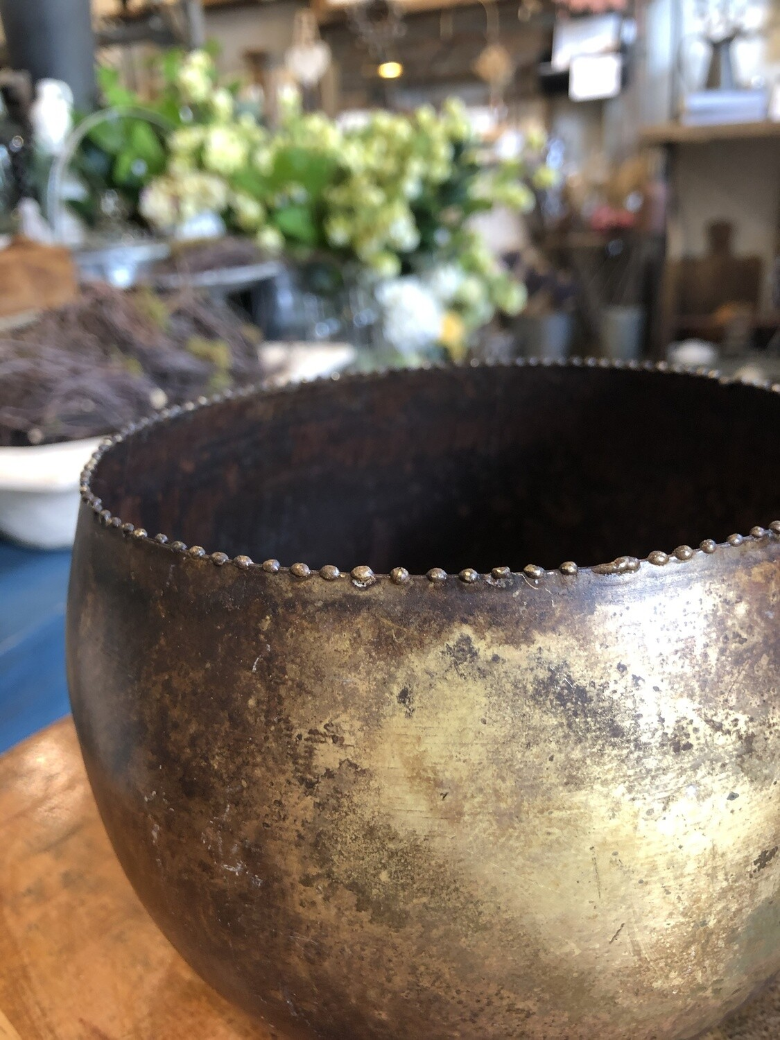 Brass Planter Bowl Large no. 153