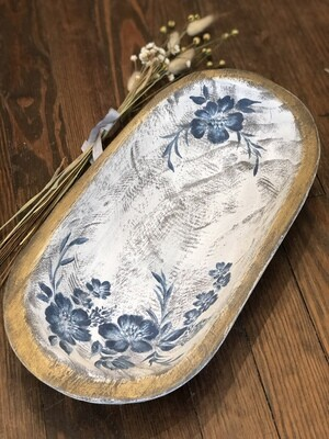 Painted dough bowl no. 162