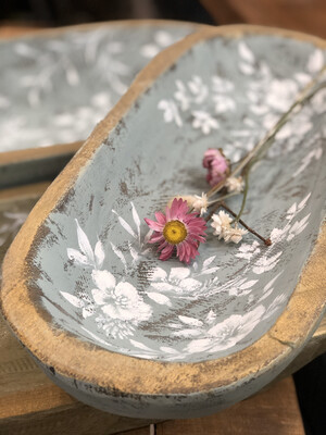 Painted dough bowl no. 163