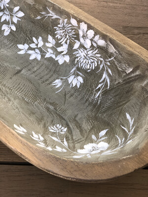 Painted dough bowl no. 164