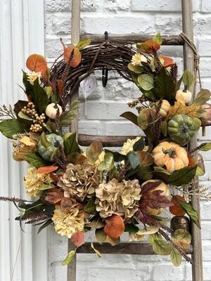 Fall Wreath Oval no. 170