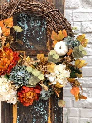 Fall Wreath no. 176