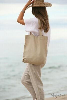 European Linen Tote Bag