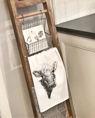 annabelle art - tea towel