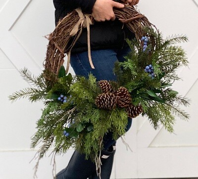 Woodland Wreath no.177