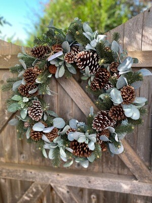 Pine cone Wreath no.178