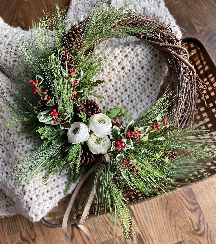 Winter wreath no. 184