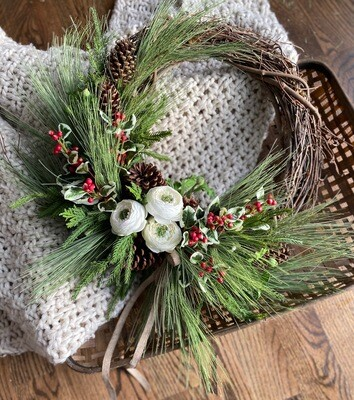 Winter wreath no. 184