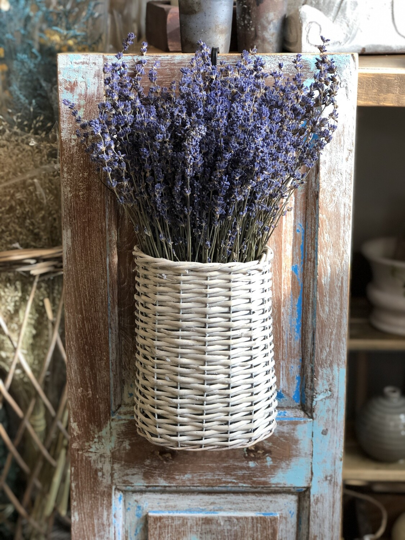 Lavender Wall basket no. 194