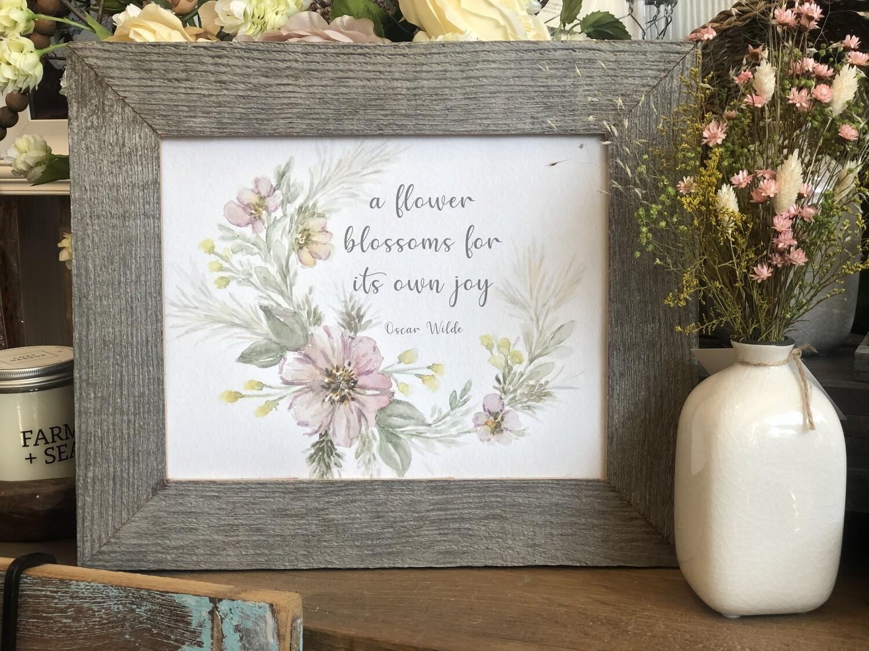 A flower blossoms no. 227