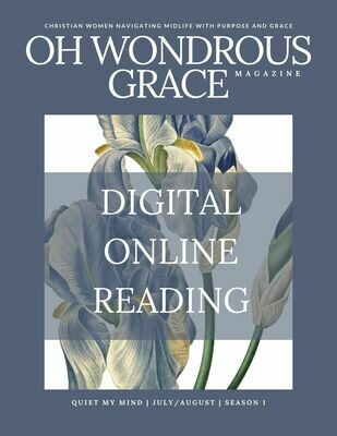 ONLINE DIGITAL READING- Quiet My Mind- Bible-Based Essays, Poetry and Art
