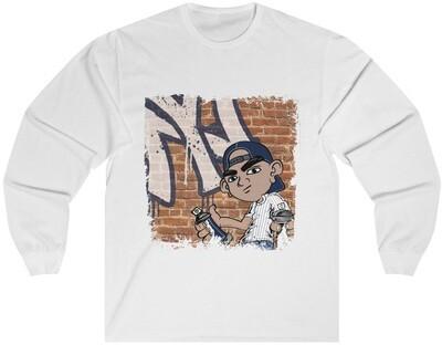 Graffiti Yankees - Adult Long Sleeve Shirt