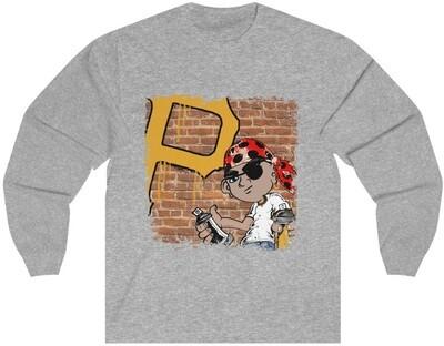 Graffiti Pirates - Adult Long Sleeve Shirt