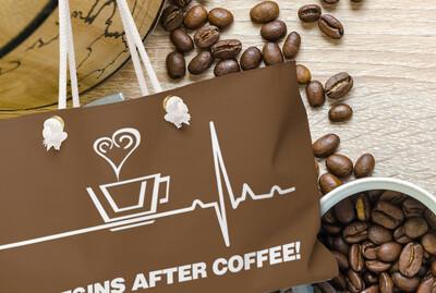 Life Begins After Coffee - Weekender Bag