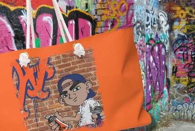 Graffiti Mets - Weekender Bag