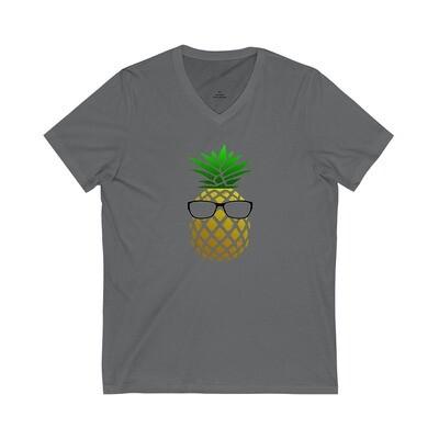 Pineapple Head - Adult VNeck