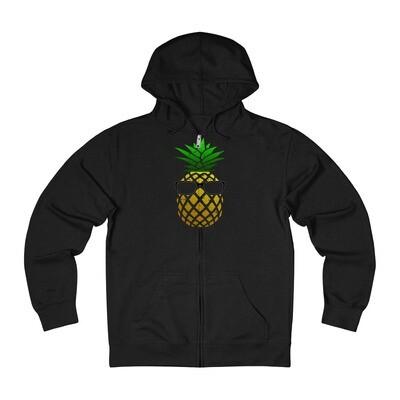Pineapple Head - Adult Zip Hoodie
