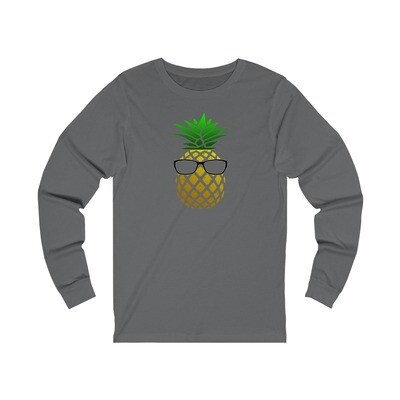 Pineapple Head - Adult Long Sleeve Shirt