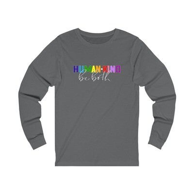 Human Kind - Adult Long Sleeve Shirt