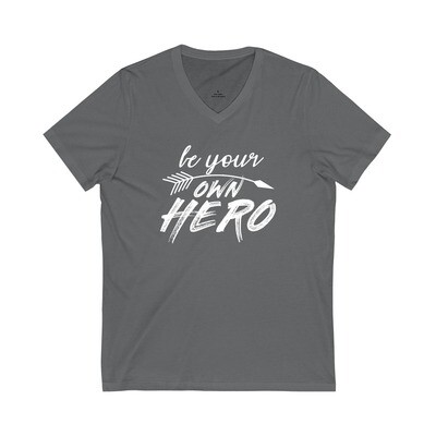 Be Your Own Hero - Adult VNeck