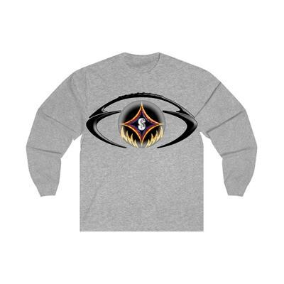 The Black & Gold Football - Adult Long Sleeve Shirt