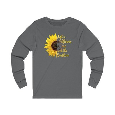 Wildflower Sunshine - Adult Long Sleeve Shirt