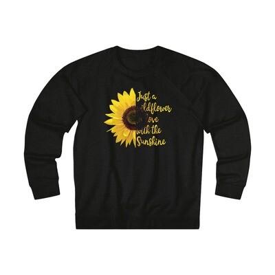 Wildflower Sunflower - Adult Sweatshirt