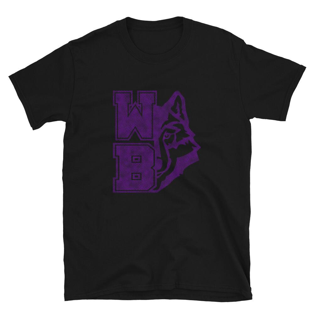 WB Wolf (P) - Unisex - Basic Softstyle T-Shirt - Gildan 64000