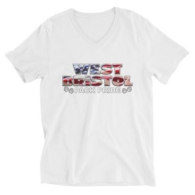 WB Pack Pride - - Unisex - V-Neck Tee - Bella+Canvas 3005