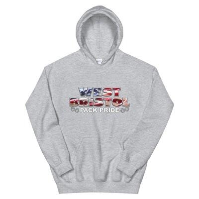 WB Pack Pride - Unisex - Heavy Blend Hoodie - Gildan 18500