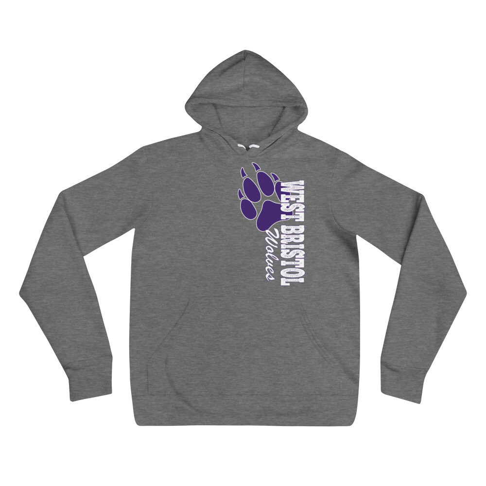 WB Wolves - Unisex - Lightweight Pullover Hoodie - Bella+Canvas 3719
