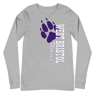 WB Wolves - Unisex - Long Sleeve Tee - Bella+Canvas 3501