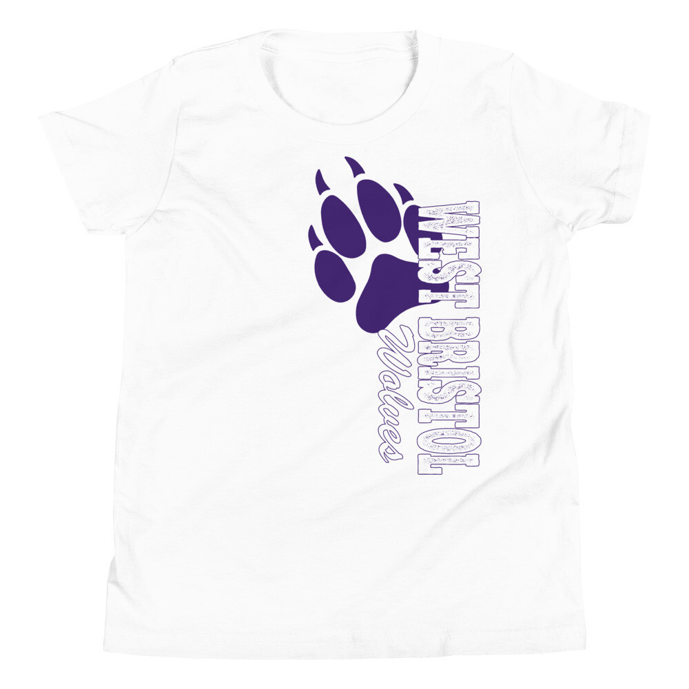 WB Wolves - Youth - Premium Tee - Bella+Canvas 3001Y