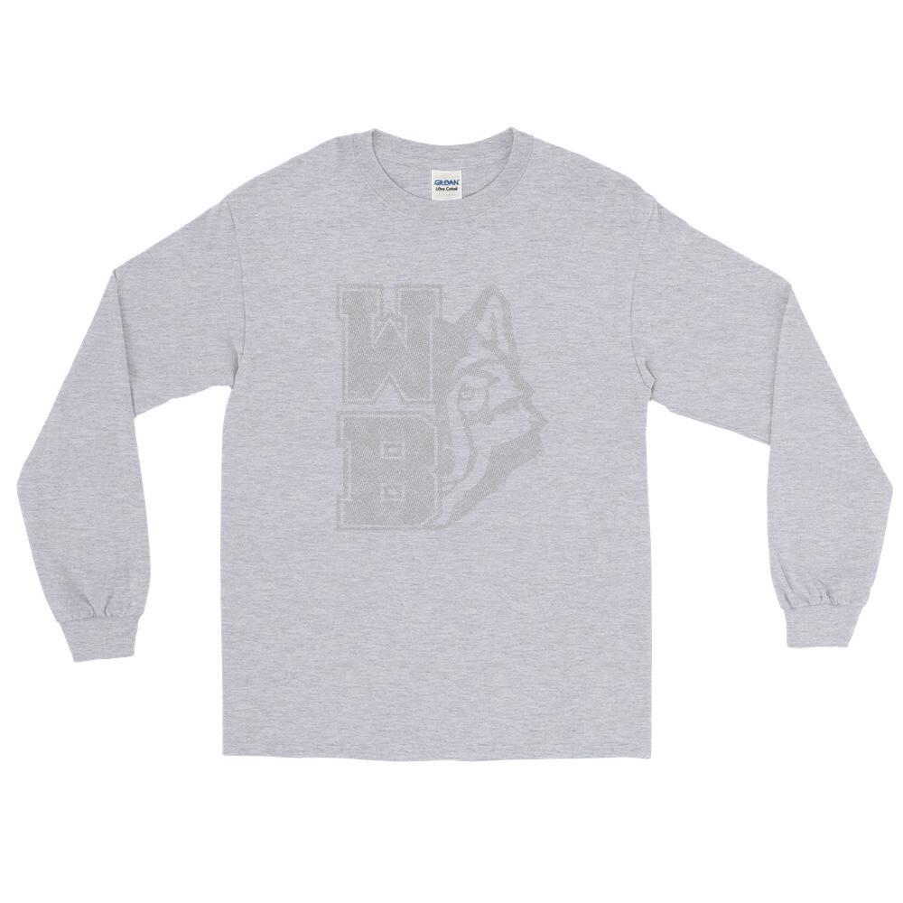 WB Wolf (G) - Unisex - Long Sleeve Shirt - Gildan 2400
