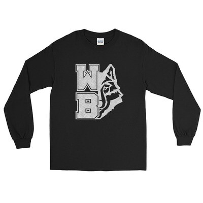 WB Wolf (GW) - Unisex - Long Sleeve Shirt - Gildan 2400