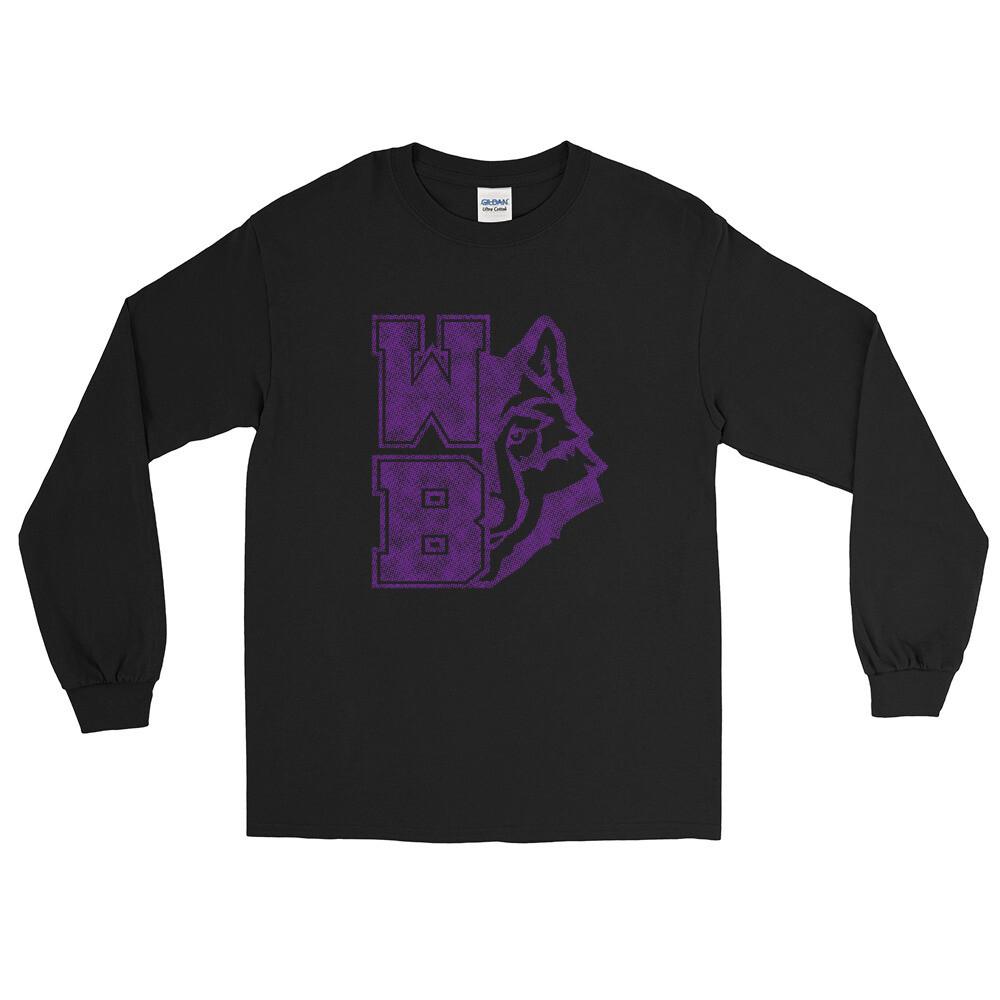 WB Wolf (P) - Unisex - Long Sleeve Shirt - Gildan 2400