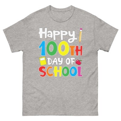100 Days 20 - Unisex - Heavyweight Tee - Gildan 5000