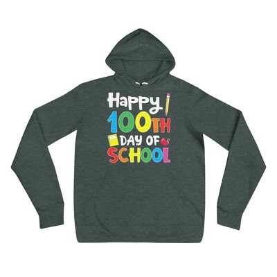 100 Days 20 - Unisex - Lightweight Pullover Hoodie - Bella+Canvas 3719