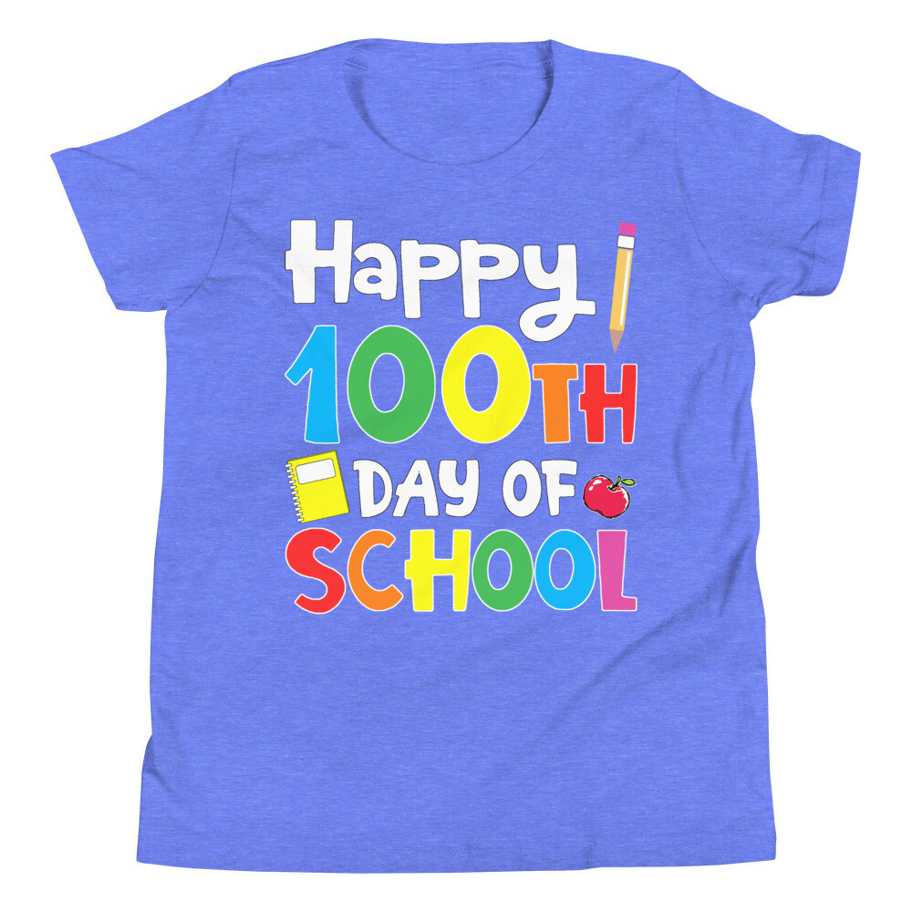 100 Days 20 - Youth - Premium Tee - Bella+Canvas 3001Y