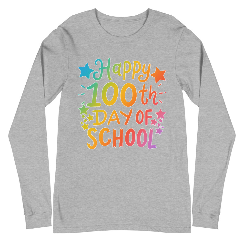 100 Days 21 - Unisex - Long Sleeve Tee - Bella+Canvas 3501