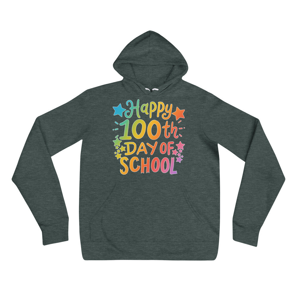 100 Days 21 - Unisex - Lightweight Pullover Hoodie - Bella+Canvas 3719