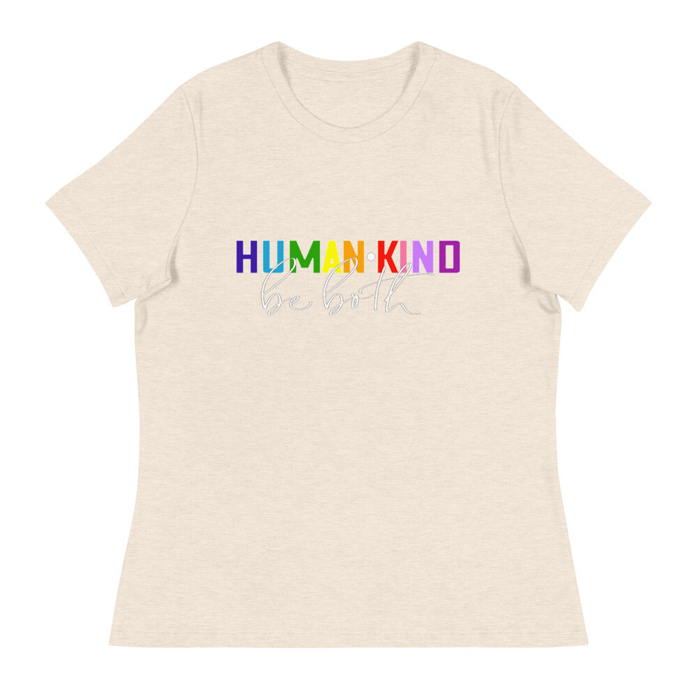 Human•Kind - Women's - Relaxed T-Shirt - Bella+Canvas 6400