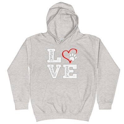 LOVE PAWS - Youth - Hoodie