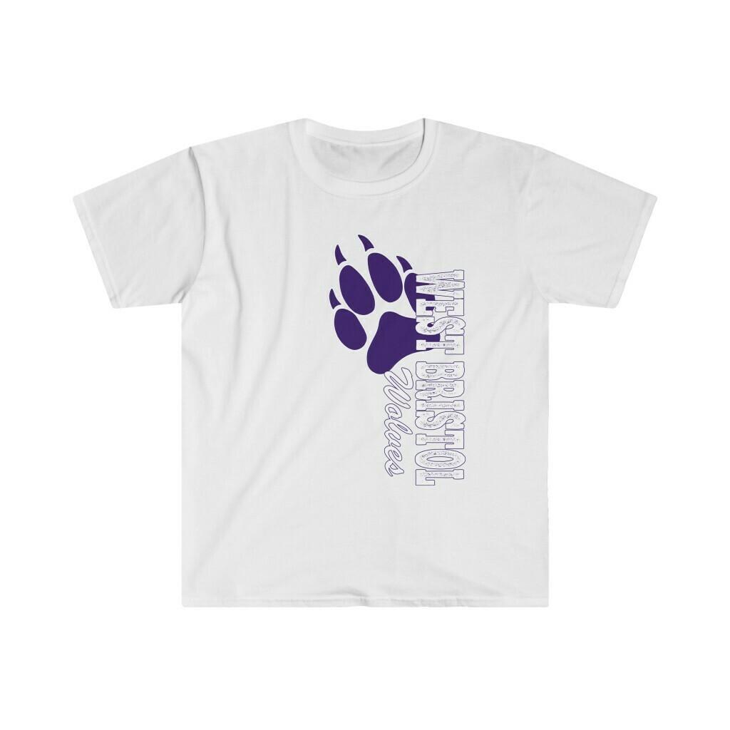 *WB Wolves -Unisex - Basic Softstyle T-Shirt - Gildan 64000