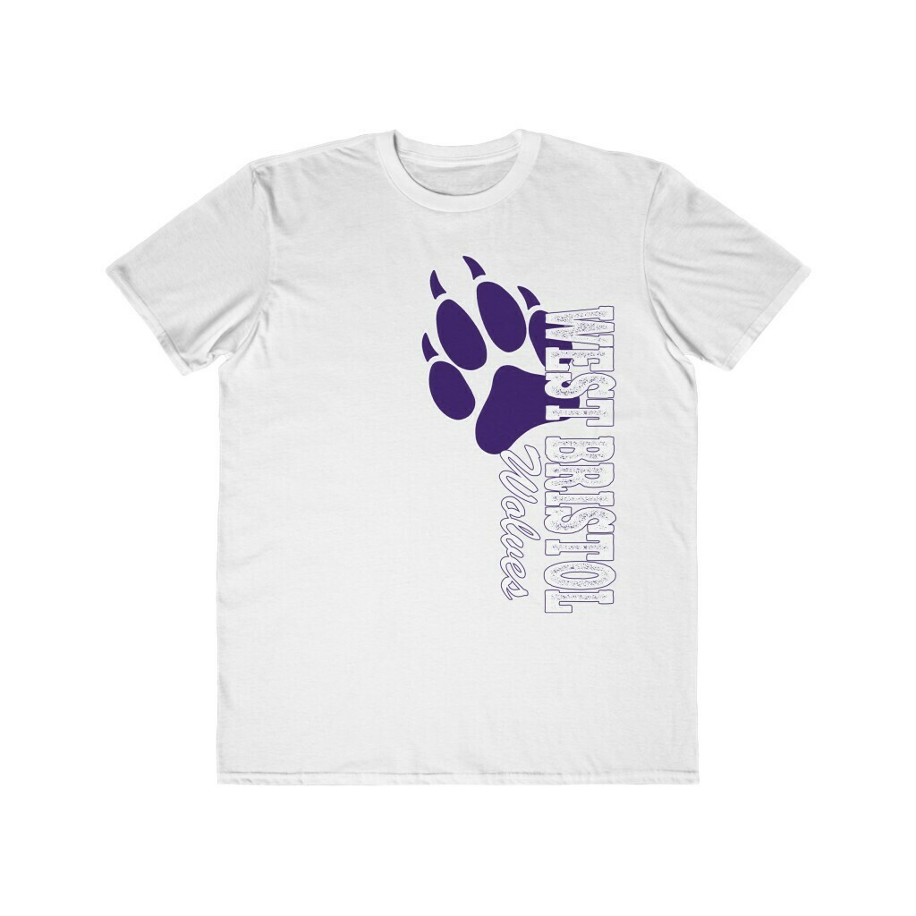 *WB Wolves - Unisex - Lightweight T-Shirt - Anvil 980